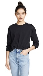 Atm Anthony Thomas Melillo Long Sleeve Boy Tee Black