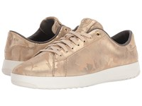 Cole Haan Grandpro Tennis Natural Camo Optic White Lace Up Casual Shoes Gold
