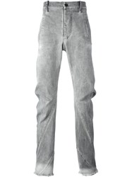 Lost And Found Rooms Bound Pockets Slim Pants Grey