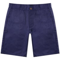 Maison Kitsune Perfect Chino Short Blue