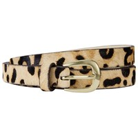John Lewis Sarah Smart Daytime Leather Belt Leopard