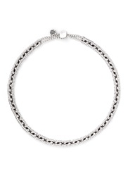 Philippe Audibert 'Ethan' Rope Chain Choker Necklace Metallic