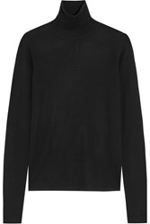 Joseph Merino Wool Turtleneck Sweater Black