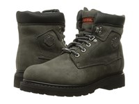 Harley Davidson Bayport Grey Men's Lace Up Boots Gray