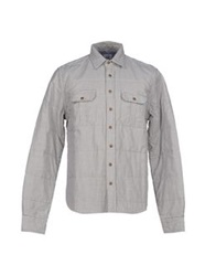 C.P. Company Shirts Dark Blue