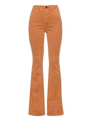 The Great The High Rise Flared Corduroy Trousers