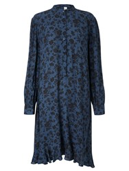 And Or Marrakesh Floral Dress Teal Black