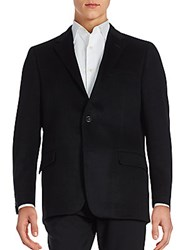 Hickey Freeman Cashmere Sport Coat Black