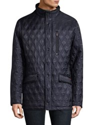 Rainforest Heated Quilted Field Jacket Midnight Tarmac
