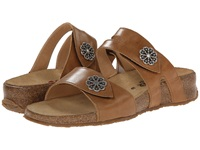 Haflinger Pansy Camel Women's Sandals Tan