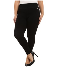 Calvin Klein Plus Plus Size Power Stretch Leggings Black Women's Casual Pants