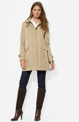Women's Lauren Ralph Lauren Rain Jacket With Detachable Hood And Liner