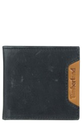 Timberland 'S Cloudy Leather Wallet Black
