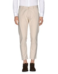 Officina 36 Casual Pants Beige