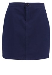 Zalando Essentials Mini Skirt Navy Dark Blue