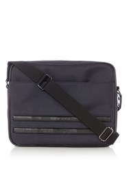 Ted Baker Iccube Nylon Messenger Bag Navy