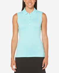Callaway Sleeveless Golf Polo Blue Radiance