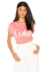 Junk Food Enjoy Coke Tee Red