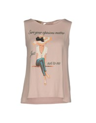 Just For You Tank Tops Pink