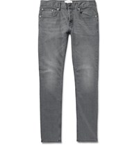 Sandro Iggy Skinny Fit Stretch Denim Jeans Gray