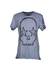 Gorgeous Topwear T Shirts Men Slate Blue
