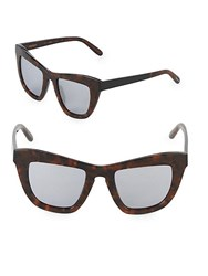 Vera Wang 52Mm Butterfly Sunglasses Brown