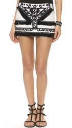 Twelfth St. By Cynthia Vincent Tribal Miniskirt