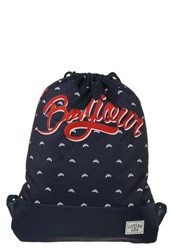 Cayler And Sons Bonjour Rucksack Navy Red White Multicoloured