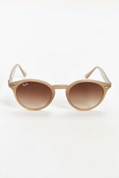 Ray Ban Gradient Lens Round Sunglasses