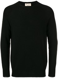 Ma'ry'ya Round Neck Sweater Black