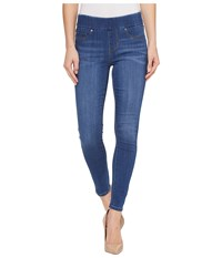 Liverpool Sienna Pull On Ankle In Silky Soft Denim In Coronado Mid Coronado Mid Women's Jeans Blue