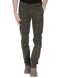 Daniele Alessandrini Casual Pants Military Green