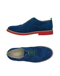 Snobs Footwear Lace Up Shoes Blue