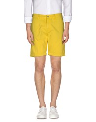 Napapijri Trousers Bermuda Shorts Men Yellow