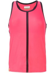 Monreal London 'Racerback' Sports Tank Top Pink And Purple