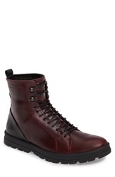 Hood Rubber Men's Hudson Waterproof Tall Boot Bordeaux Leather