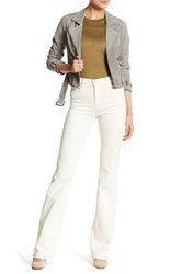 J Brand Dasha High Rise Flare Jean Yellow