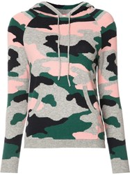 Chinti And Parker Military Print Hoodie