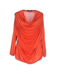 Elisabetta Franchi Topwear T Shirts Women Orange