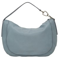 639860554b Liebeskind Troyes Leather Hobo Bag Stone Blue