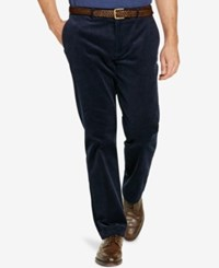 Polo Ralph Lauren Men's Big And Tall Stretch Classic Fit Corduroy Pants Worth Navy