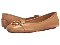 Michael Michael Kors Fulton Moc Cashew Vintage Leather Women's Slip On Shoes Brown
