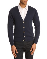 Menlook Label J12 Navy Blue Cardigan