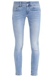 G Star Gstar Midge Cody Mid Skinny Slim Fit Jeans Brantley Denim Blue Denim