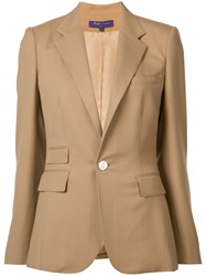 Ralph Lauren Collection Classic Blazer Nude Neutrals