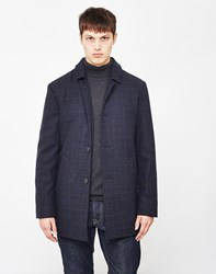 Selected Wash Trench Coat Navy