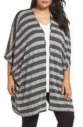 Tart Plus Size Women's Alania Stripe Cardigan