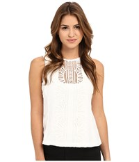 Nanette Lepore Midday Sun Shell White Women's Sleeveless