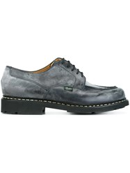 Paraboot Chunky Lace Up Shoes Grey