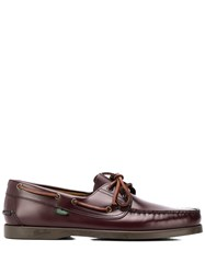 Paraboot Barth Boat Shoes Brown